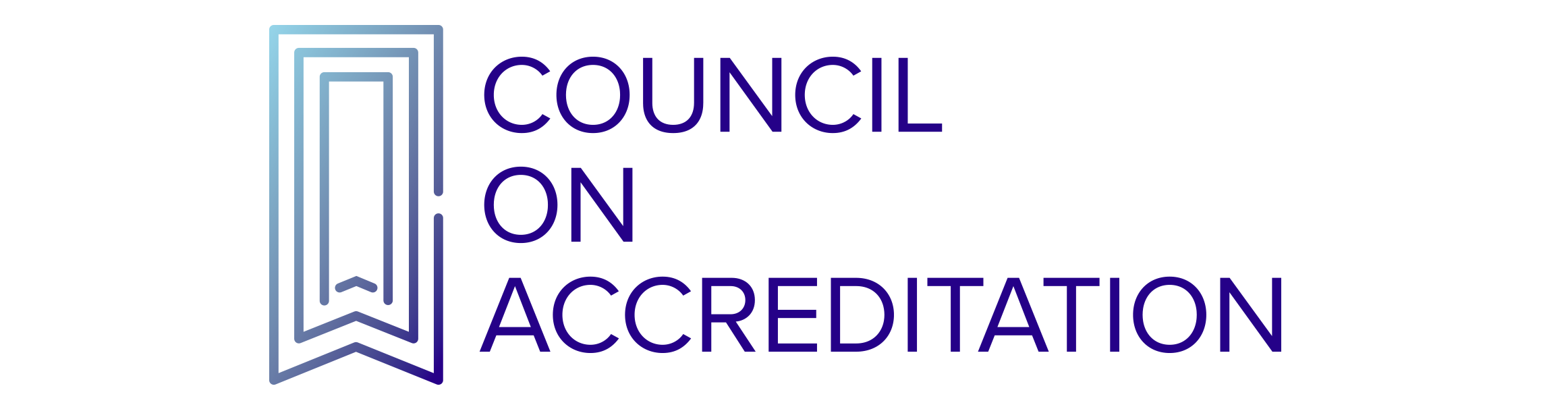 Council of Accreditation Seal